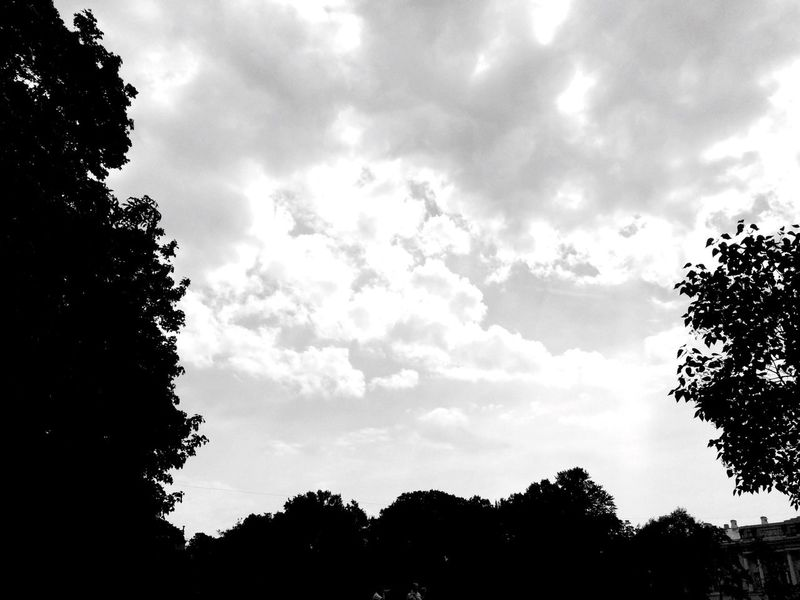 Blackandwhite Clouds And Sky Clouds Black & White