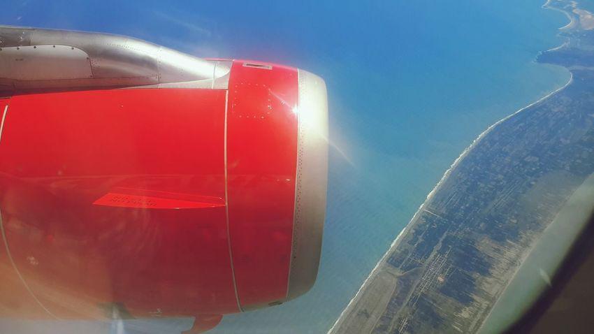Entrando a México por Salina Cruz, Oaxaca. Vuelo AV960, Lima-México. 6 de agosto de 2015. Aviones Avianca A320