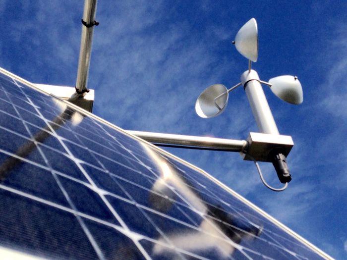 Air Quality Monitoring Site Solar Panels Solar Power