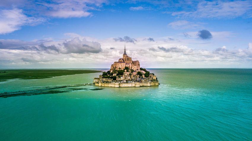 Travel Destinations France🇫🇷 Normandy Mont Saint-Michel Outdoors