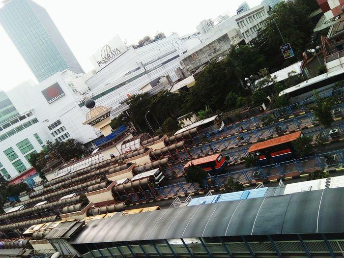 City Life Transportation Busses Only Station Streetphotography Kopaja Metromini Busway Transjakarta