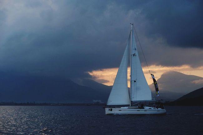 Be. Ready. EyeEm Selects Sky Cloud - Sky Nature Mountain Sae Afrace Travel Sailing Sailing Boat Sailing Away