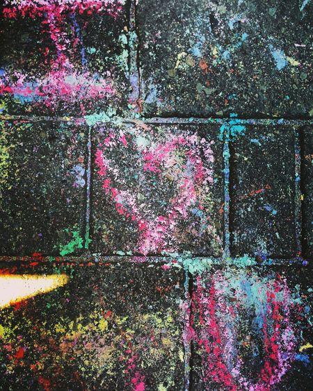 Written proof Sidewalkchalkart Iheartyou Streetart Deepellum First Eyeem Photo