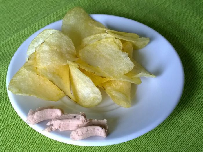 Apero Time Apéro Chips Close-up Composition Detail Dipp Food Food And Drink Liverwurst Temptation Variation Macro_collection Show Us Your Takeaway!