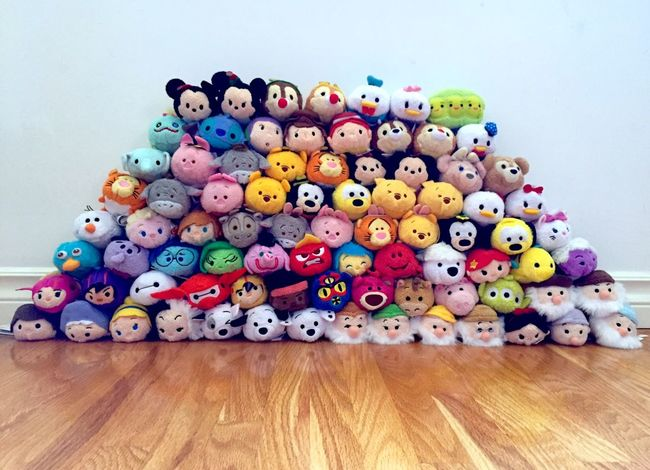 Almost to the top! Tsumtsum Disney Tsumcollection Cute Disneystore TsumTsumTuesday Stackemup