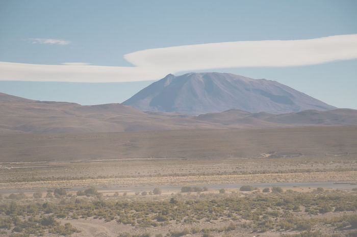 Uyuni landscape Beauty In Nature Clouds And Sky Day Desert Hills Hillside Landscape Mountain Nature No People Outdoors Scenics Sky Uyuni, Bolivia