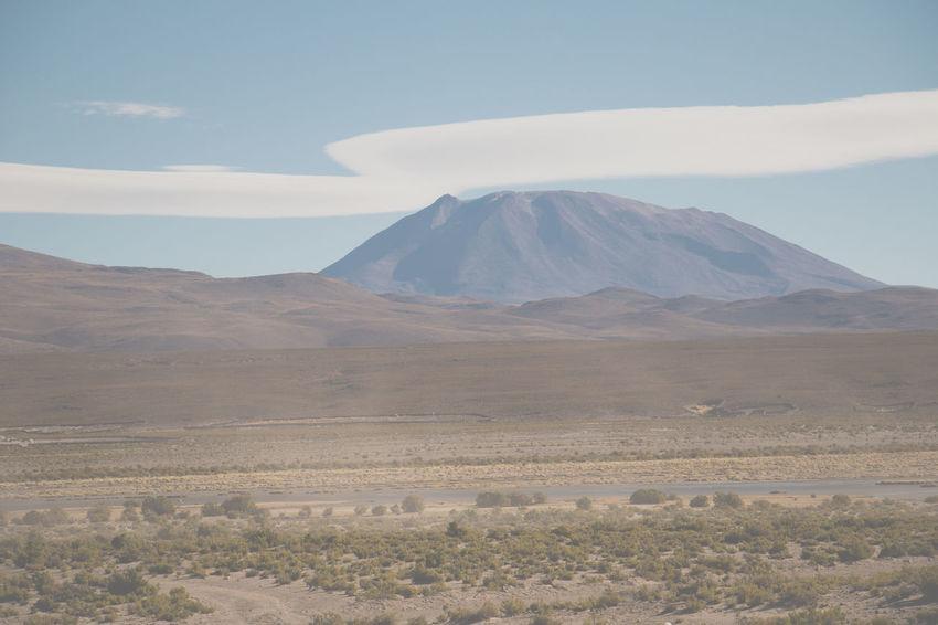 Uyuni landscape Beauty In Nature Clouds And Sky Day Desert Hills Hillside Landscape Mountain Nature No People Outdoors Scenics Sky Uyuni, Bolivia