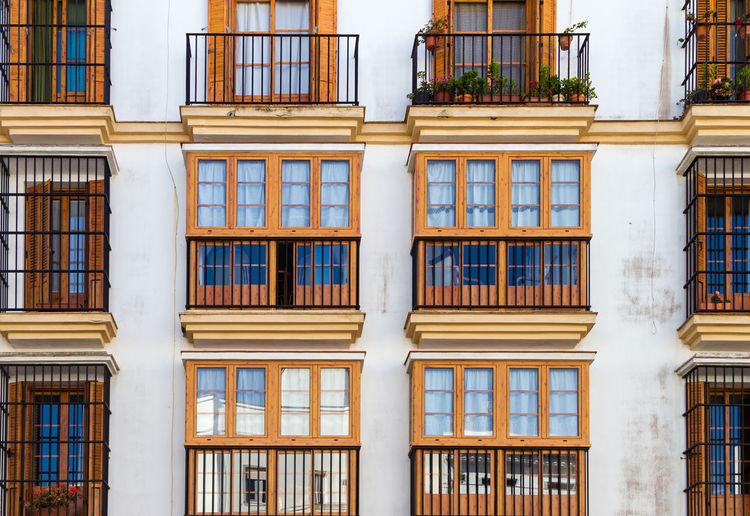 Spanish facades