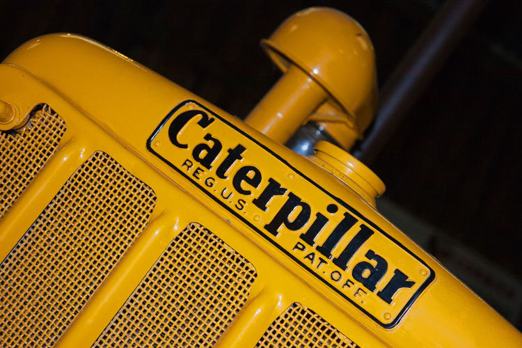 Photo I took of a piece of farming equipment at Murton nr York Machinery Tractor Caterpillar Close Up Farm Equipment Farming Murton Park No People Yellow
