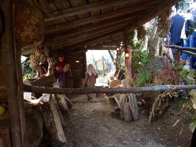 Villaggio creato per il presente