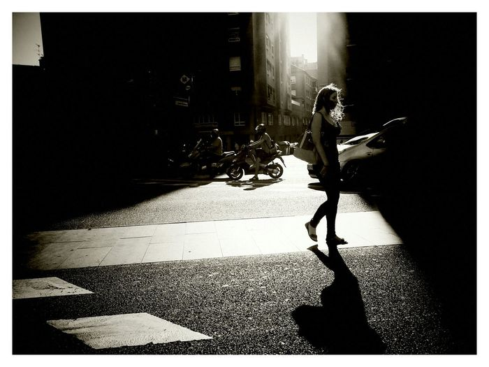 Le Contre Jour Streetphotography_bw EyeEm Best Shots Blackandwhite