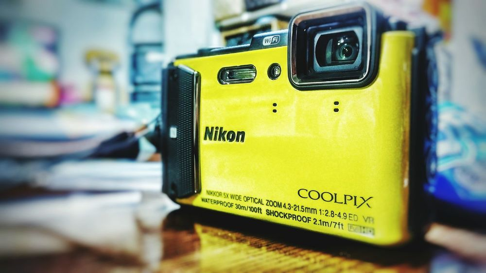 Yellow Close-up Communication No People Indoors  Day Nikon AW130 Close Up Technology