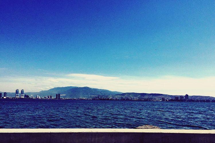 ızmir Peacefull Sea Wave Voice First Eyeem Photo IPhoneArtism Iphone6