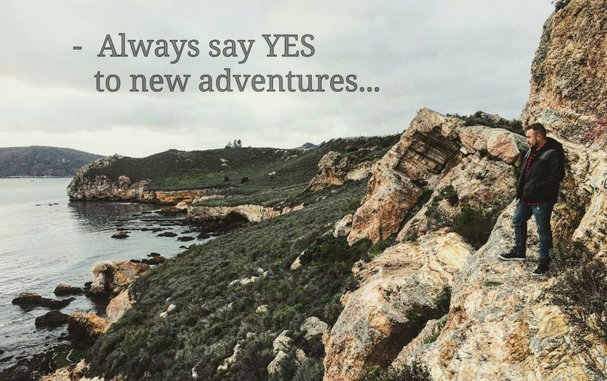 • Always say YES to new adventures... Avila Beach CA Avila Beach Beach Cali California California Love California Coast Quotes Lifequotes Aroundtheworld Netgeotravel Netgeowild Photoshoot Photography Photo Photooftheday Photographer Lifeisbeautiful Lifestyles Life Is A Beach God Is Great. Godscreation