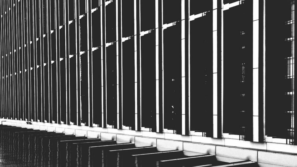 Change Your Perspective Architectureporn Blackandwhite Monochrome Lines Repetition