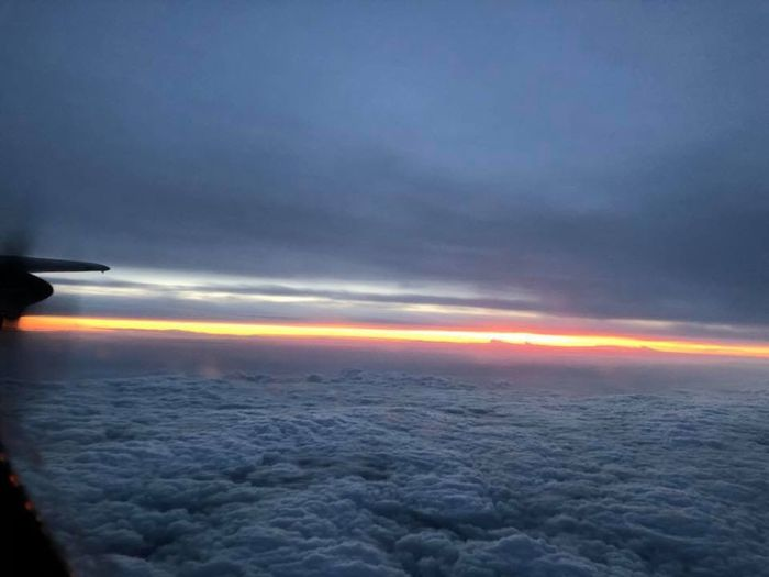 Cloud - Sky Transportation Sky Airplane Nature Beauty In Nature