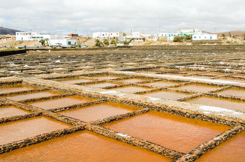 Cloud - Sky Fuerteventura Las Salinas Museo De La Sal Pattern Puerto Del Carmen