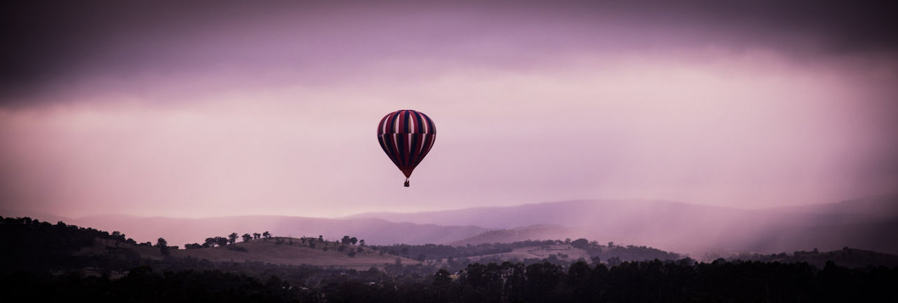 Sunrise Silhouette Lights And Shadows Hotairballoons Landscape Balloons ❤Australia❤ Full Frame Nature_collection Colours Yarra Valley From My Point Of View Landscape_Collection AirBalloon Tree Branches Nature Photography
