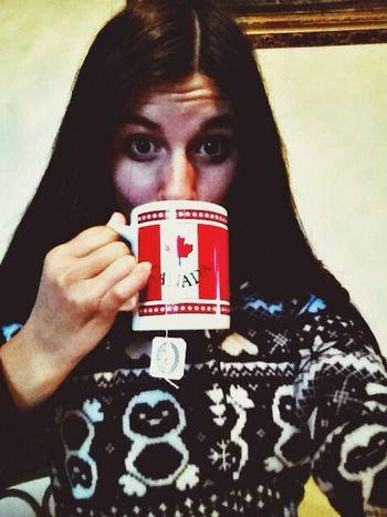 Hot Tea Footie Pajamas  Canada