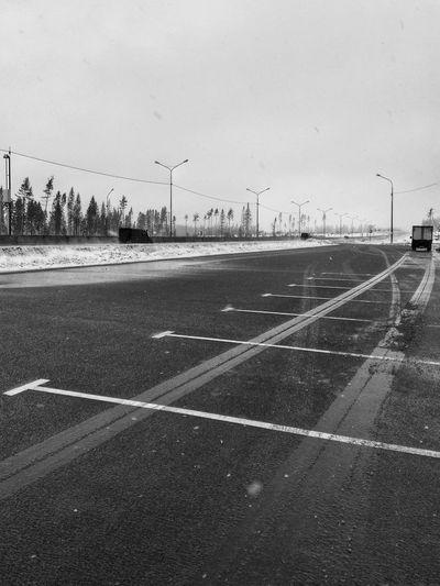 Crossing. Blackandwhite чернобелоефото Zima Winter