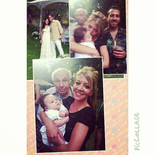 Beautifulbrideandgroom Grandpa Brother Babyluke family