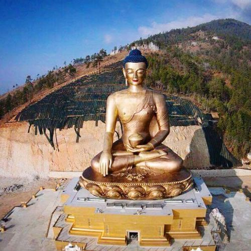 Buddha point..... Thimphu Bhutan Lord Buddha Photooftheday Check This Out! Peace ✌ Mesmerizing PhonePhotography