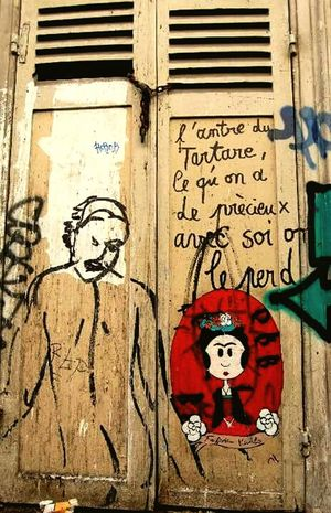 Paris Graffiti , OliviaPope , Poetry STRRET ART/GRAFFITI