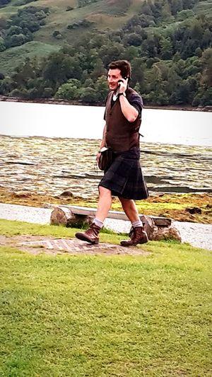 Kilt and mobile phone Scotland Men In Kilts Kilt Kilts Capture The Moment I Love My City