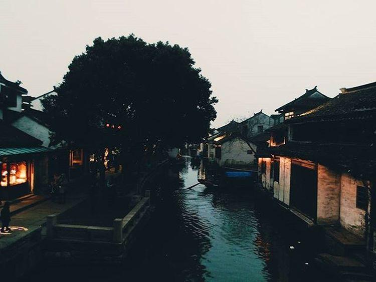 Zhouzhuang Ancient River Night VSCO Photo Phone 周庄