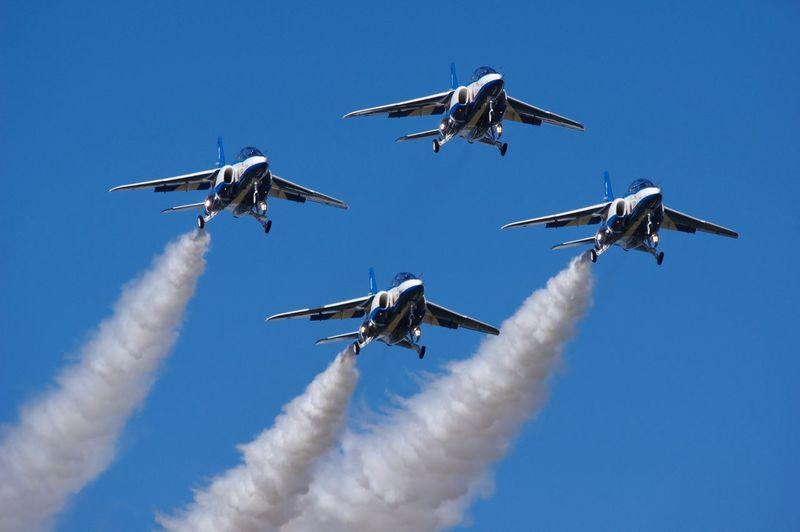 ブルーインパルス 航空自衛隊 航空祭