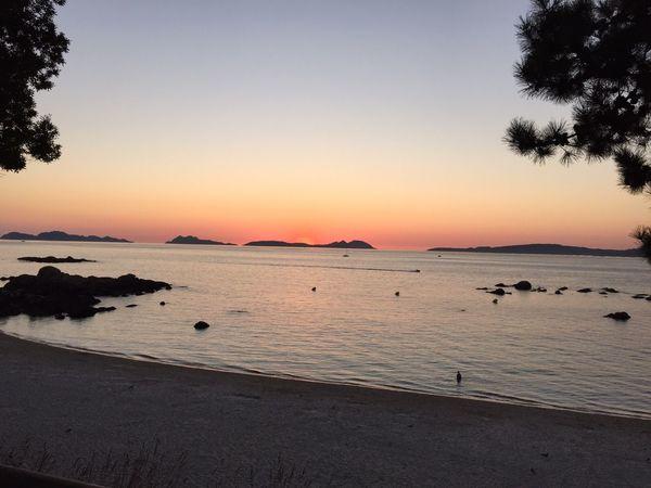 Beach Summer Sunset Sand Sea Water Horizon Over Water Landscape Beauty Vigo Outdoors SPAIN Galicia Spain EyeEmNewHere