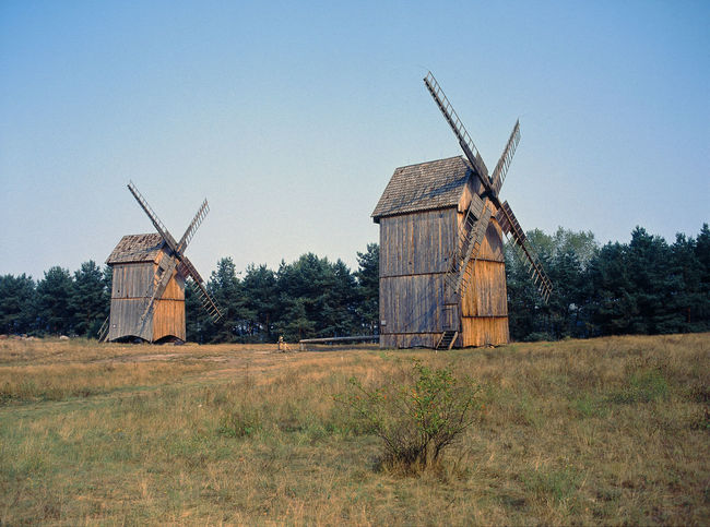 Architecture Built Structure Country Countryside Day No People Outdoors Wind Turbine Windmill Wooden Windmill