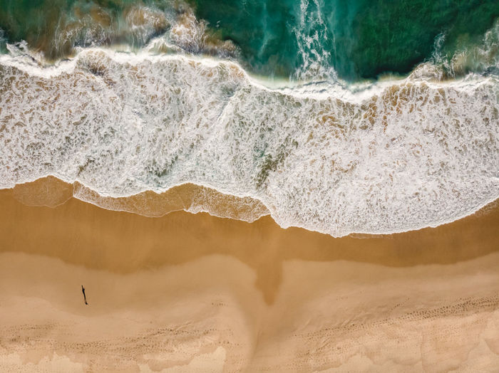 Burning Palms Beach ❤️ Top view drone aerial of crashing waves at the very remote beach just before sunset. Shot with DJI Mavic Air. Outdoors Day Sand Travel Destinations Power In Nature Beach Scenics - Nature Nature Wave Motion Sea Beauty In Nature Water Burning Palms Beach Royal National Park Sydney Australia Royal Coast Track Royal Coastal Walk One Person Shadow person Top View Top Down View From Above  Drone  Drone Photography DJI Mavic Air Dji Shore Waves Waves Crashing Crashing Waves  Golden Hour Surf Swell Hiking Hikingadventures Sunlight Travel Destination Adventure Exploring Get Outside Power Remote Tourism Ocean Abstract Nature Leisure My Best Photo