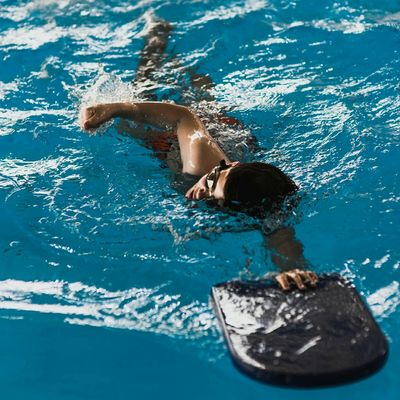 Young swimmer training Swimmer People Portrait Sports Swiming Pool