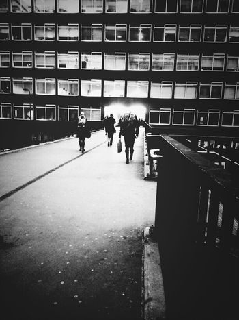 A Bridge Across Time Blackandwhite Time Bridge London Streetphoto_bw Andrographer Across Streetphotography