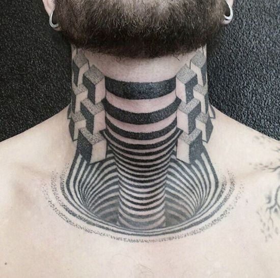 Blackandwhite Tatoo People Tattoo Color Portrait