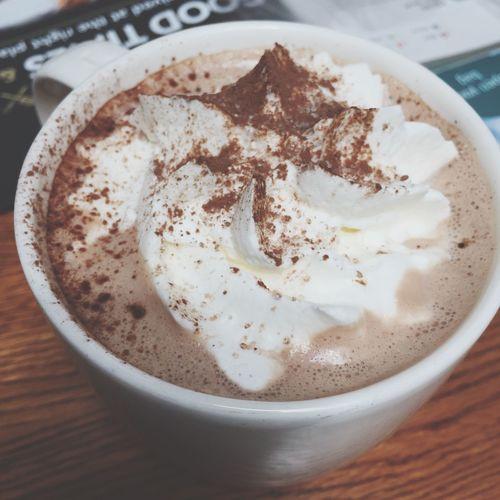 Signature hot chocolate for sunday treat Bangkokeater