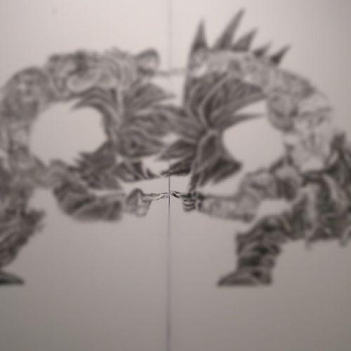 Space 2d Art Exhibition painting dragon ball 來港區都有點消耗但總是有驚喜