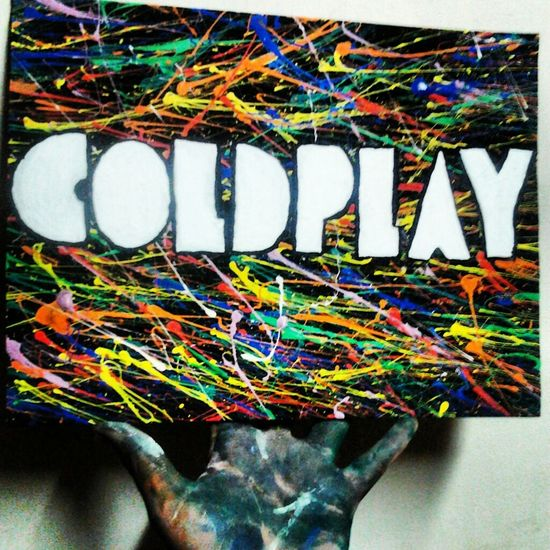 Coldplay Music Cuadro Follow4follow Crazy Moments Artist Peruvian Darwing Party Time Colors