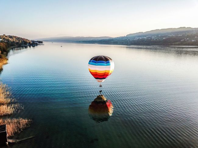 BOOM! Outdoors Landscape Water Balloon Dronephotography Switzerland