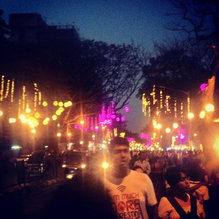 Again Chembur Festival Evening Lights Mumbai