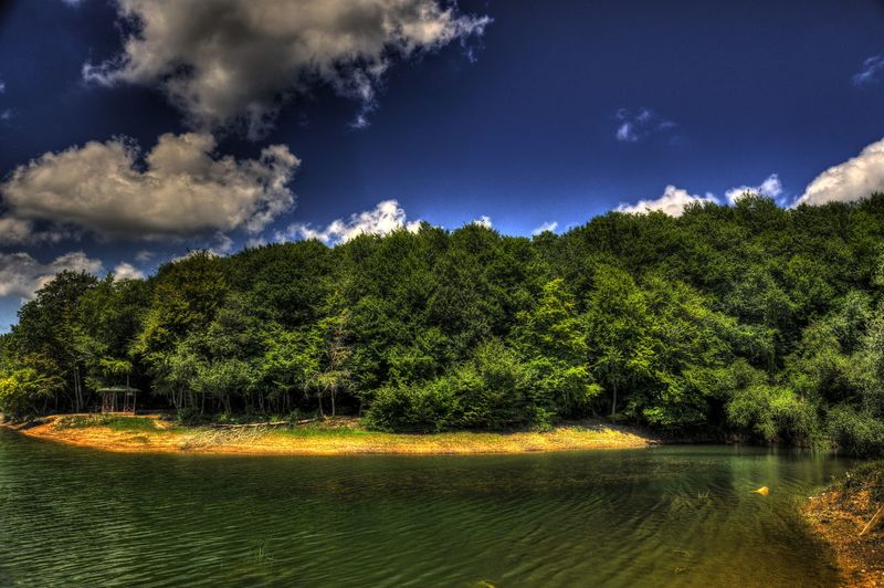 Beauty In Nature Cloud - Sky Day Nature No People Outdoors Scenics Sky Tranquil Scene Tranquility Tree Water