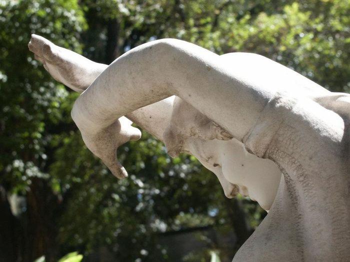 Detalhes de a estátua Close-up Day Human Body Part Human Hand Mulher Museu Abilio Barreto Nature Outdoors