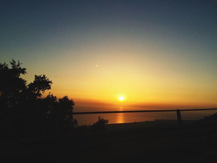 Sunset Sea And Sky Calabria Italy Sunset Sun Sea Season Summer Beatiful Colors