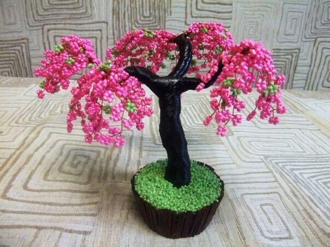 сакура красиво Handmade рукоделие Sakura Butiful