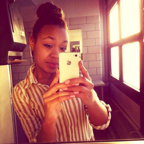 #School #TooEarly #Tired #DressCode #Bun