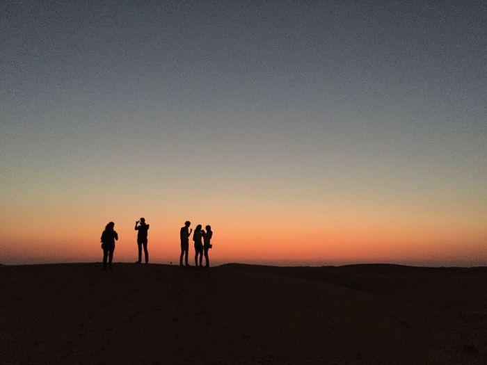 Desert sunset at UAE First Eyeem Photo