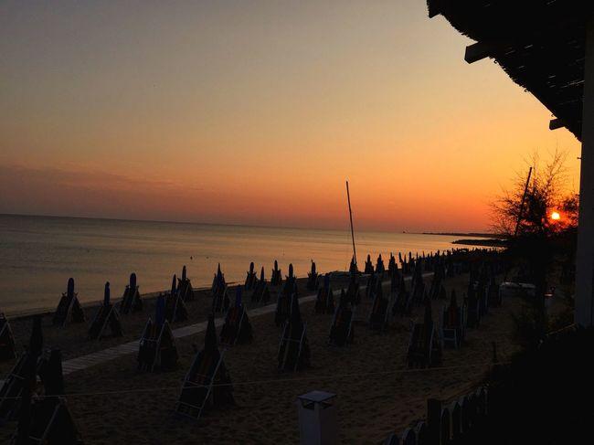 Sunset Puglia Summer Holiday Capture Tomorrow