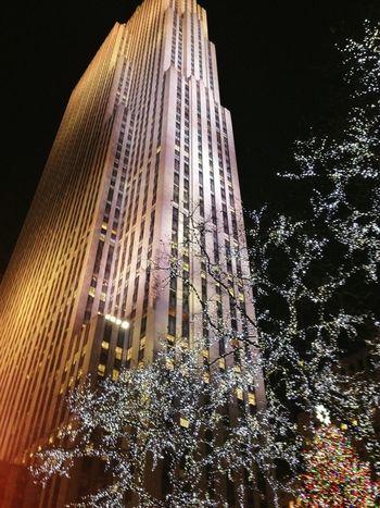 Santaclausiscomingtotown Merry Christmas! New York City Nightphotography