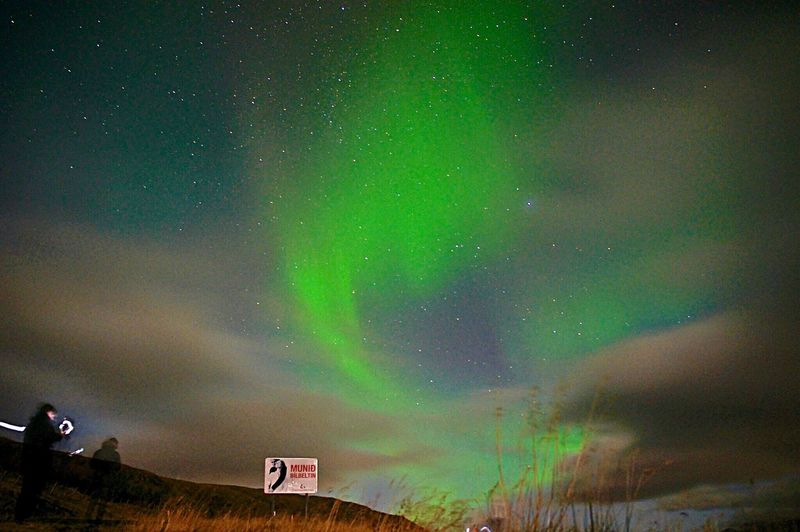 Aurora Polaris Night Green Color Sky Star - Space Beauty In Nature Scenics Outdoors Nature Idyllic Space Island Iceland Tranquility No People Constellation Landscape Galaxy Illuminated Natural Phenomenon